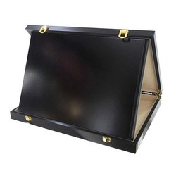 Black Exotic Wooden Box Plaque
