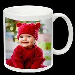 Sublimation Photo Printing Ceramic Mug Printing Service, Local