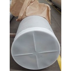 White 0.5 - 80 Inch Polypropylene Pipe End Cap