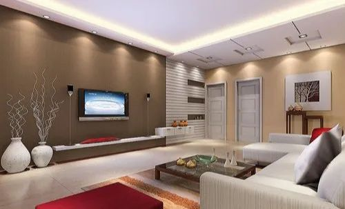 Drawing Room Interior Design Service Work Provided Wood Work Furniture Id 21812861033