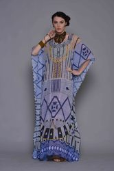 Polyester Georgette Long Kaftan