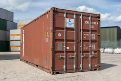 OLD SHIPPING CONTAINER