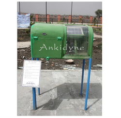 Green Ankidyne Science Park Solar Powered Radio for Outdoor