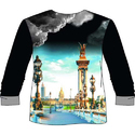 Mens Full Sleeve T Shirt Printing Sublimation Services