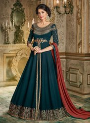 Rama Georgette Exclusive Designs Anarkali Suits