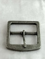 Plain Aluminum Belt Buckle, Packaging Type: Box