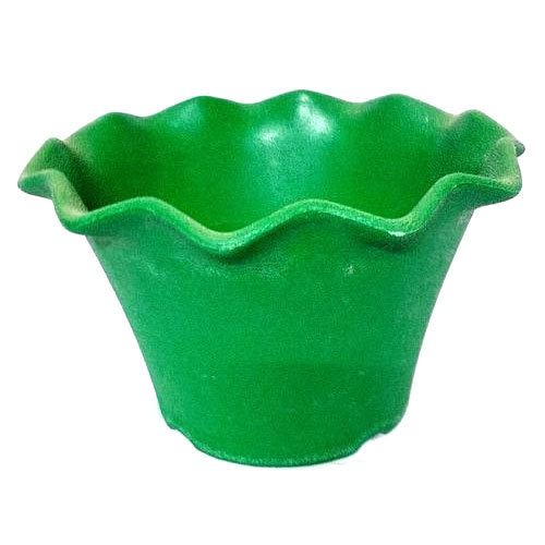 Green And Red Plastic Decorative Planter