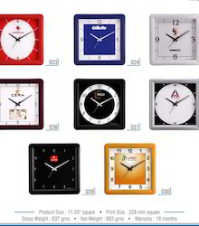 Analog Plastic Promotional Wall Clock, For Office