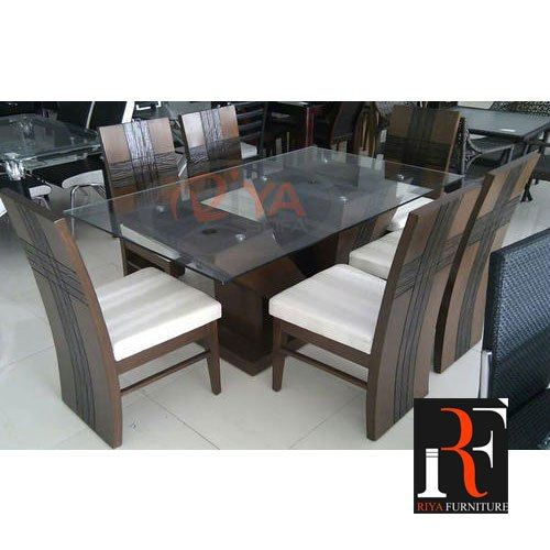 Glass Dining Table 6 Chairs Off 50, Sarah Extending Glass Dining Table With 6 Romeo Chairs