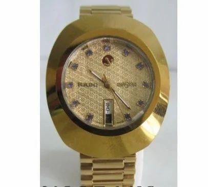 830c7627096b9 Rado Diastar Golden Automatic Watch, राडो कलाई घड़ी ...