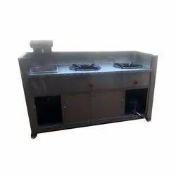 Steel Counter Cooking Range