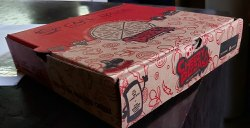7 inch pizza box (printed box)