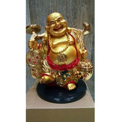 Ceramic Laughing Buddha Statue
