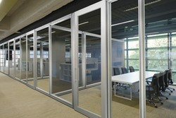Framed Glass Partition