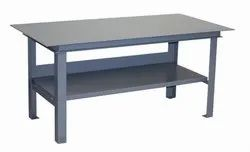 Iron Silver Work Table