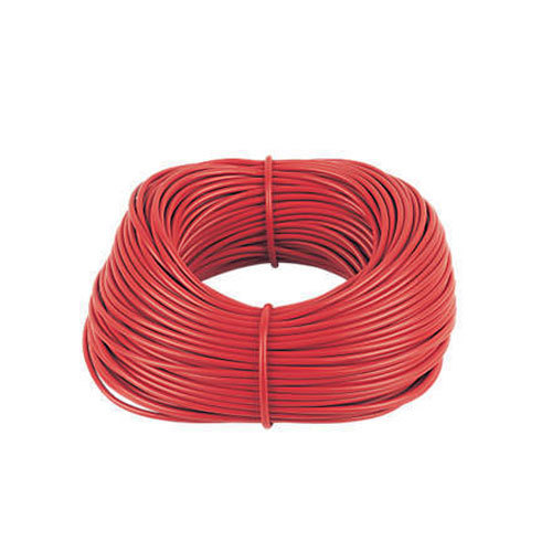 Red Copper 4 Mm Electrical Cable For, House Wiring Cost In India