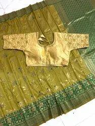 Banarasi Handloom Soft Weaving Silk Saree