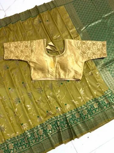 Banarasi Handloom Soft Weaving Silk Saree