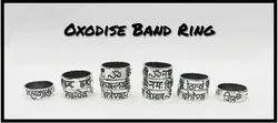 925 Oxidized Band Mahadev