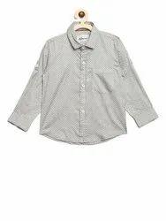 White AJ Dezines Kids Shirt for Boys