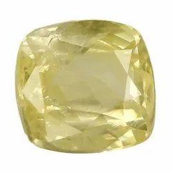 Cushion - Cut Natural Ceylon Yellow Sapphire