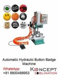 Automatic Hydraulic Button Badge Machine