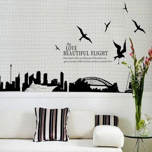 Customised Wall Decals व ल ड कल In Rani Bagh New Delhi Roniga Graphics Id 15005244833