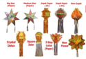 Diwali Decoration Lamps and Kandils