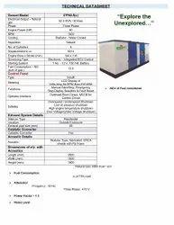 Ashok Leyland Gas Generator, Size: 3500x1500x1900, Automation Grade: Semi- Automatic