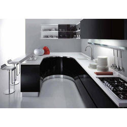 Aluminium Modern Kitchen