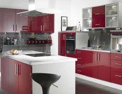 Acrylic Modular Kitchen