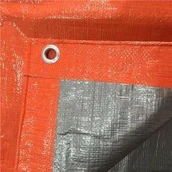 聚乙烯(HDPE) LDPE涂层Intec -橙色HDPE / PE防水布