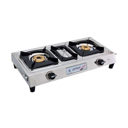 Jyotika Double Burner Simple Gas Stove