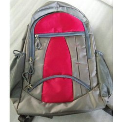 Red-Grey School Bags