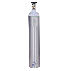 Aluminum Industrial Oxygen Gas Cylinders