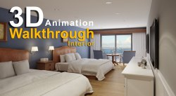 3D Walk Through video for Interior Design