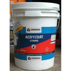 150 Microns UV Resistant Elastomeric Exterior Coating, Packaging Type: Bucket, 20 Kgs