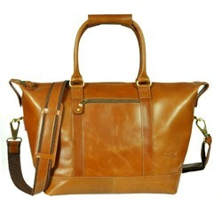 Ladies Tan Leather Bag