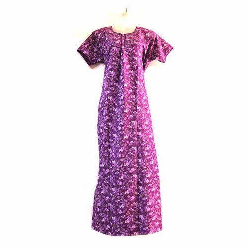 74a1a641fa Spun Long Women's Cotton Nighty, Rs 150 /piece, P Mukesh Kumar | ID ...