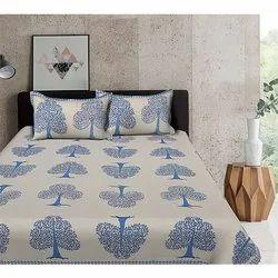 Pure Cotton Flower Design Bedsheets