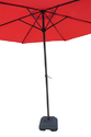Patio Umbrella-Center Pole-2.7M-Red