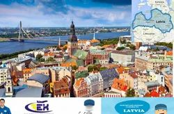 Courier Service For Latvia