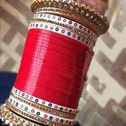 Beautiful Red & Golden Color Bridal Chuda Set