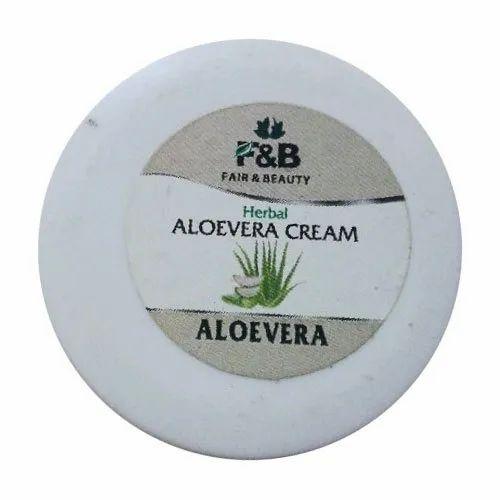 F&B Aloe Vera Cream, Pack Size: 50gm, For Body Cream