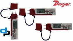 Dwyer Digital Moisture Meter MST2-01, Measure Moisture Temp RH