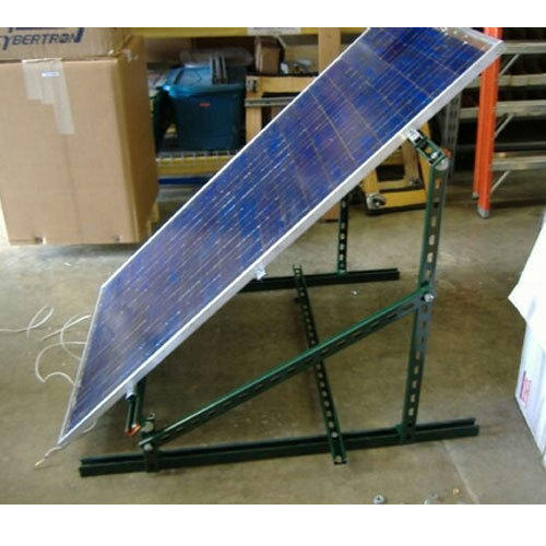 Mild Steel Solar Panel Mounting Stand मोनो क्रिस्टलाइन 1