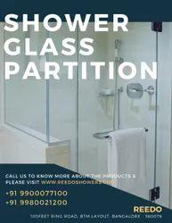 Shower Glass Partition - Walk In Type, Bengaluru