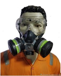 Plastic Anti-Pollution Face Protection Masks for Pharma Industry