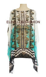 Digital Printed Embellished Kaftans