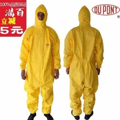 Tychem C Suit DuPont Coveralls